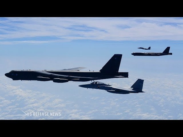 High Alert U.S. Flies B-52 Bombers Near Contested Islands Amid China Tensions