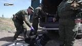 Тела диверсантов погибших под Песками переданы украинской стороне