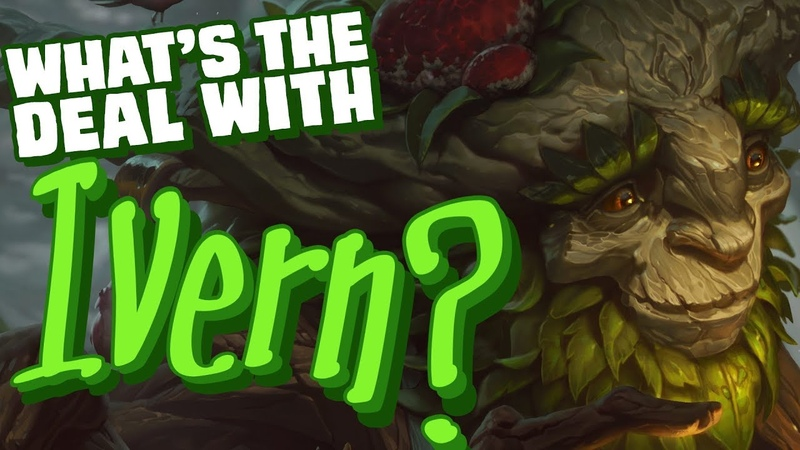 What's the deal with Ivern Character design lore discussion