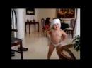 BABY Dancing like SHAKIRA INCREDIBLE WAKA