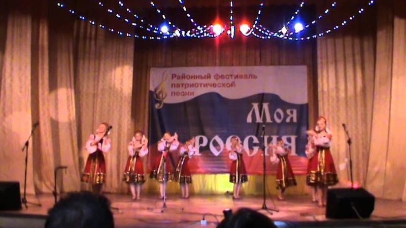 Танцевальная группа Сибиринка - танец с ложками