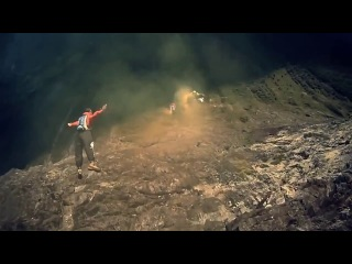 Base Jumping in Slow Motion HD
