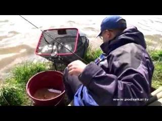 Ловля карпа на фидер весной ч.2 (обучающее видео) [uroki-online.com]
