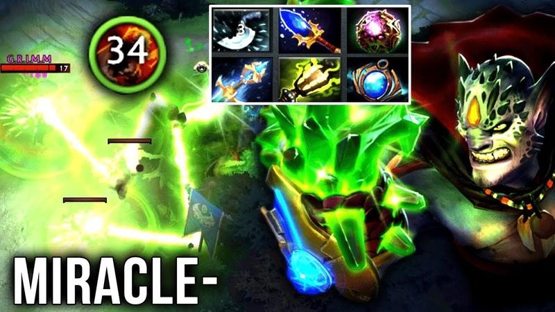 Miracle- MOST BRUTAL LION EVER?! 34 Stacks, 39 Kills - CRAZY WTF 7.20 Dota 2