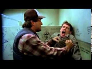 Джефф Дэниелс Jeff Daniels и смешной Джим Керри Jim Carrey который сосёт палец в туалете  хочешь муж
