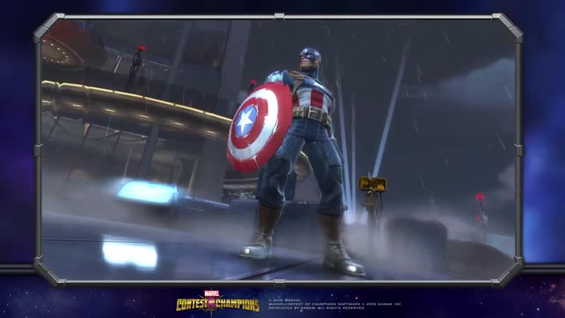 Captain America's WWII Special Moves