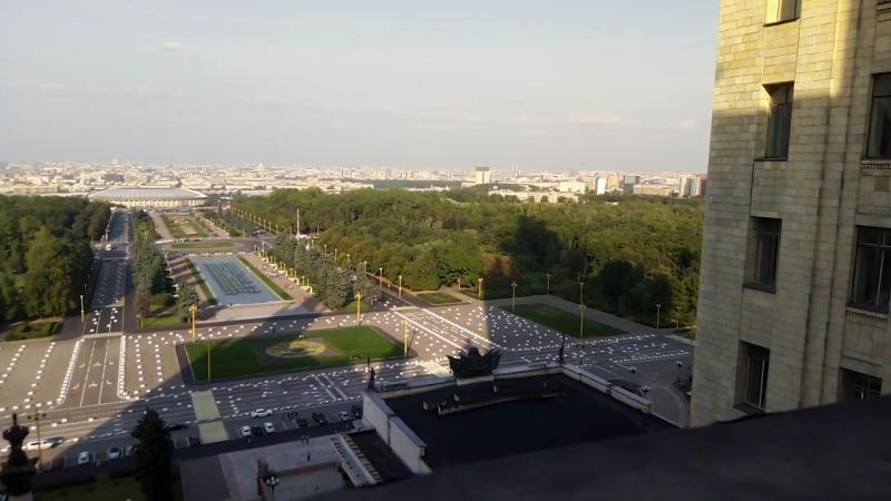 Москва. МГУ. Автор Макаров А.