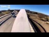 На BMX по балкам моста