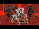 Zombie Pigman Life 1 3 Minecraft animation