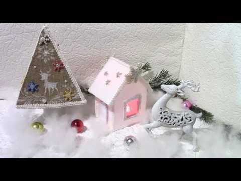 Домик-светильник Lamp house. ХоббиМаркет