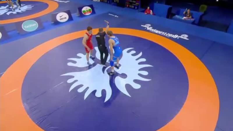 Полуфинал: Муса Евлоев (Россия) - Артур Алексанян (Армения)