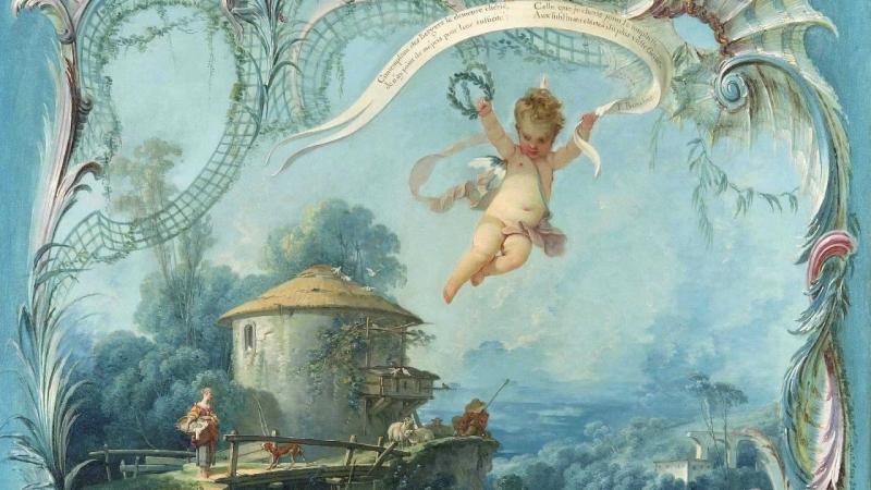 Жозеф Боден де Буамортье (1689-1755). Любовные путешествия, опера-балет (в 1736 г. была поставлена в Парижской опере)