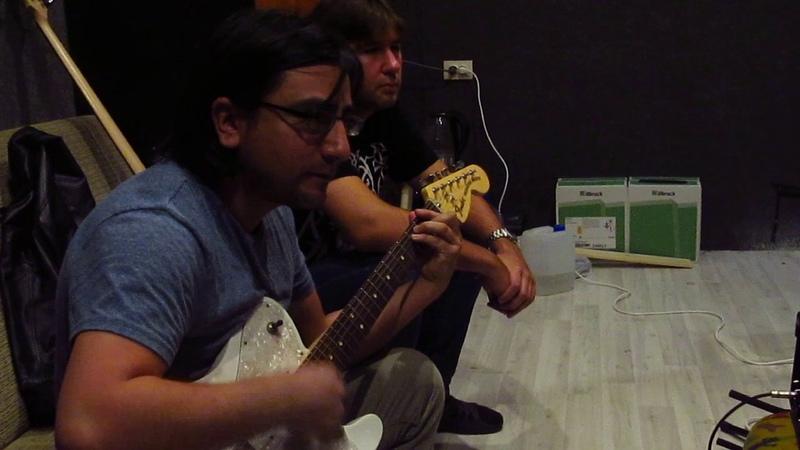 Sangris Возрождение героя запись гитары