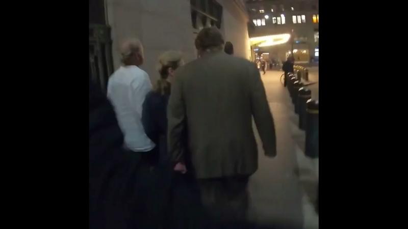 Мерил с мужем посетили концерт Пола Маккартни NYC 8/7/18