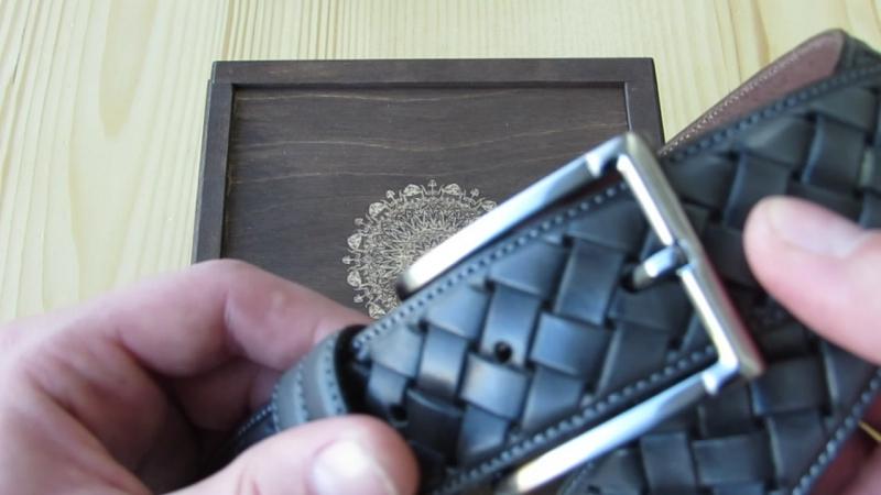 Шкіряний ремінь 110 см довжина та ширина 35 мм Італія Lucky Jeans Дрогобич