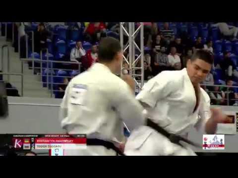 Kostiantyn Inozemtsev VS Todor Todorov (Bulgaria) EC 2018 Hungary