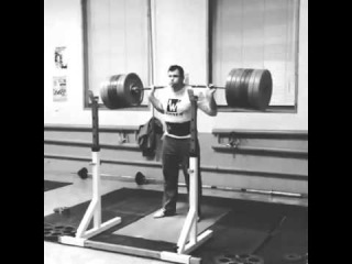 Алексей Ловчев - присед 320 кг