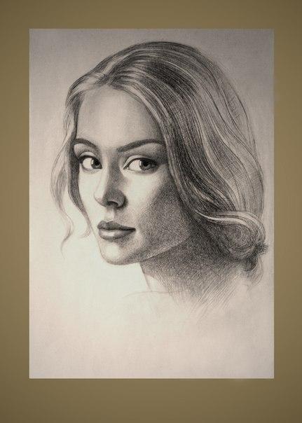 стоимость портрета карандашом: