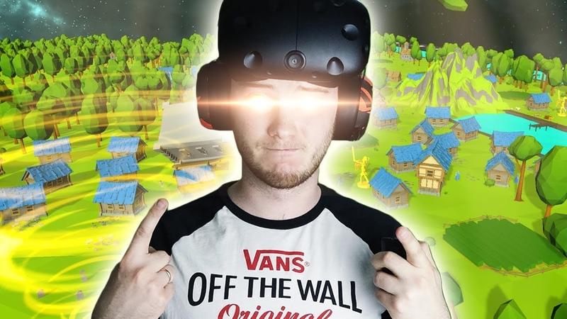 СОЗДАЕМ МИР С НУЛЯ В СИМУЛЯТОРЕ БОГА ДЛЯ ВР! - Deisim VR - HTC Vive ВИРТУАЛЬНАЯ РЕАЛЬНОСТЬ