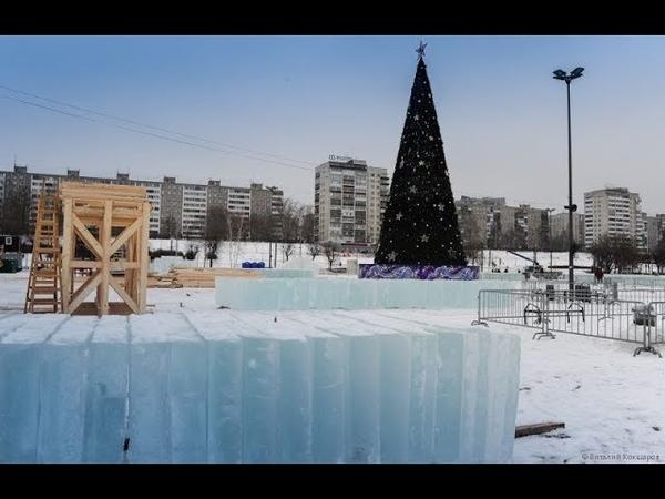 Ледовый городок в центре Перми откроется 30 декабря