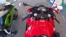 Honda CBR 600 RR und Kawasaki ZX6R