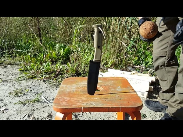 Заруба 2017/2. Нож SELVANS Extrema Ratio. Уличный тест