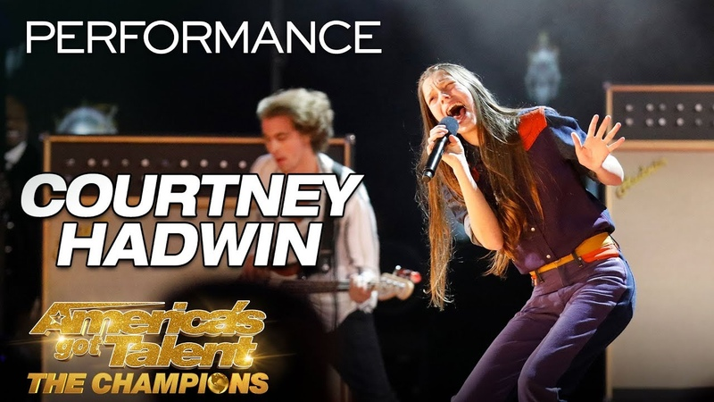 Courtney Hadwin: Teen Rock Star Slays Pretty Little Thing - America's Got Talent: The Champions