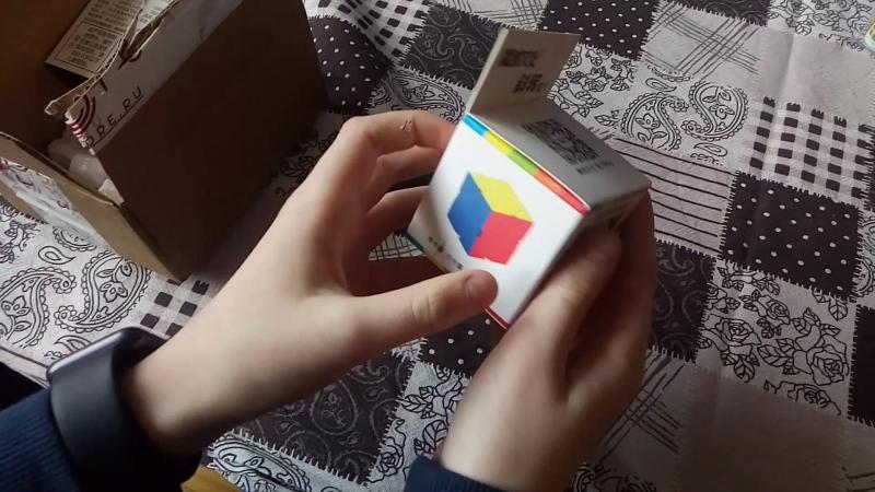 Анбоксинг с CCCSTORE.RU -MoYu Skewb Cubing Classroom и Gan 249 2x2x2 v2