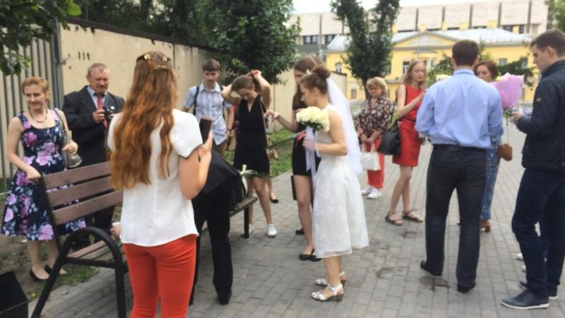 Свадьба Всеволода и Анастасии. После ЗАГСа...