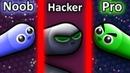 NOOB vs PRO vs HACKER in Slither.io 2
