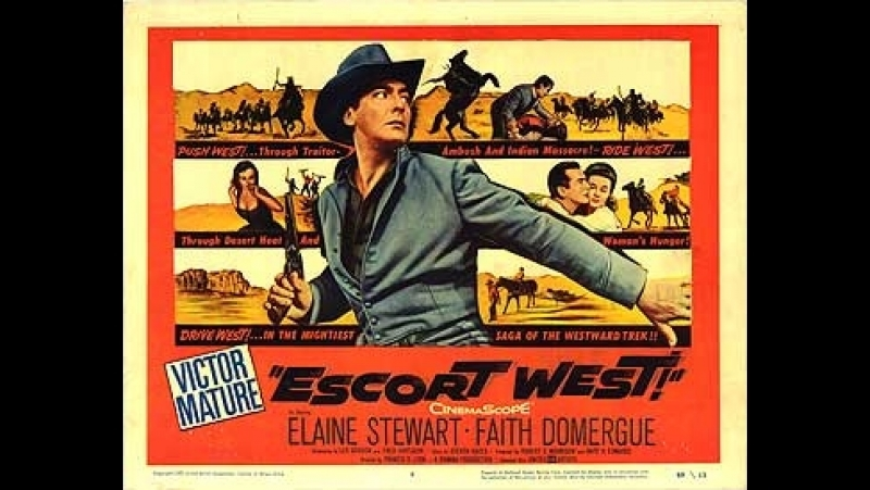 Escort West (Caravana al Oeste) (1958) (Español)