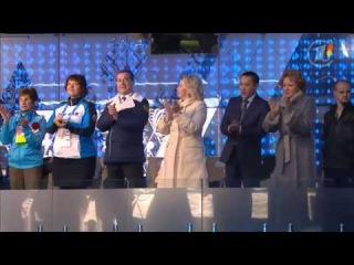 Паралимпийские игры. Сборная России выходит под музыку из песни Гудбай Америка (Наутилус Помпилиус)