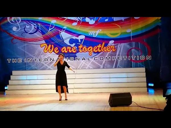 Ученица нашей школы Ольга Полякова Преподаватель Щеглова Татьяна Геннадьевна