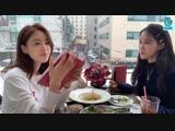 V LIVE 190219 Hyomin + Eunjung T-ARA - COMEBACK D-1