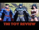 Jim Lee Signature Series Cell Shaded Batman Wonder Woman Superman Figures Review