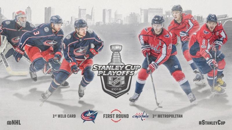 НХЛ - плей-офф Коламбус–Вашингтон
