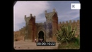 Rabat, City Walls, 1960s Morocco from 35mm
