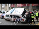Yellow Vests VS The Police Compilation protest
