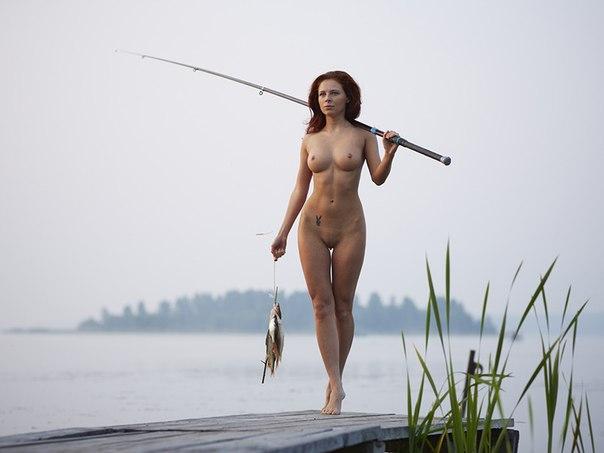 Рыбачки голые фото