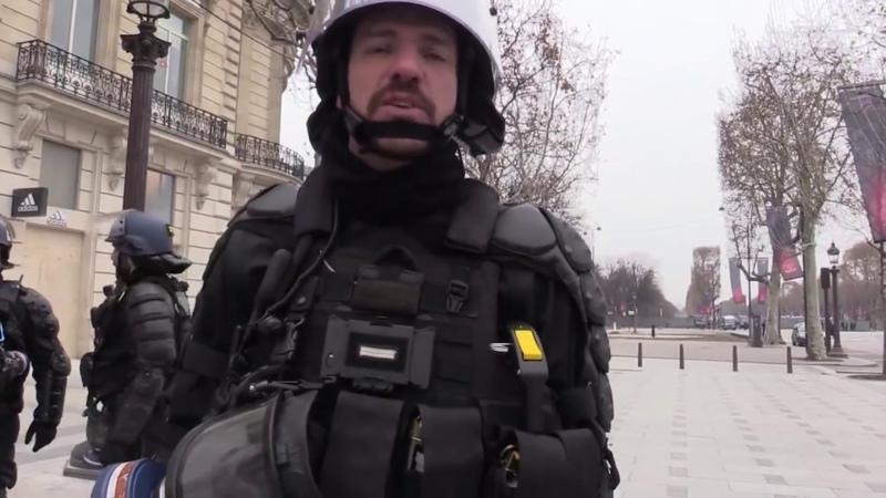 Extrait dun reportage CRS BAC gendarmerie et violence policière