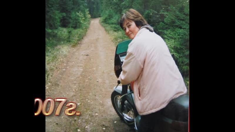 За грибами на мотоцикле 2007г