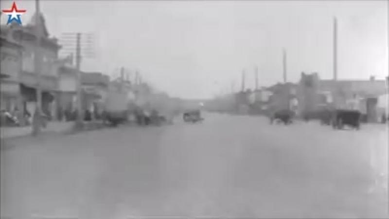 парад сербских войск челябинск 1919