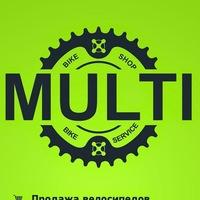 Логотип MULTI - Магазин-ВелоСервис