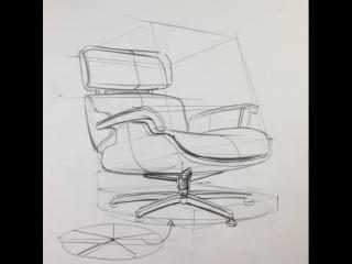 Sketch tutorial | Chair by İrfan Çiftçi