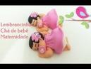Faça sua Própria lembrancinha Chá de bebê e Nasc Biscuit Para iniciantes