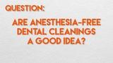 Хорошая ли идея чистить зубы без наркоза Are Anesthesia-Free Dental Cleanings a Good Idea
