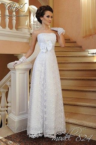 Купить Свадебное Платье Прямое