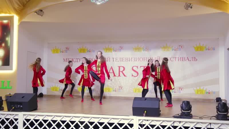 Ансамбль Сударушка Ирландский танец 1
