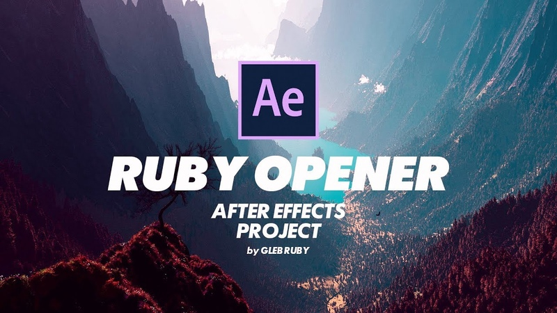 RUBY OPENER - FREE AFTER EFFECTS PROJECT🔥