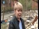 Костры на руинах снесённого аварийного дома напомнили омичам войну